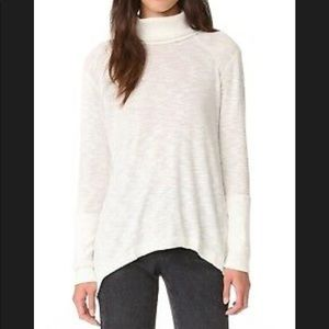 Free People Split Back Turtleneck Tunic